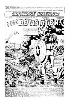 Extrait de Capitaine America (Éditions Héritage) -8485- Dévastation!