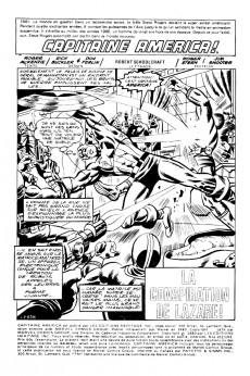 Extrait de Capitaine America (Éditions Héritage) -102103- La conspiration de Lazare!
