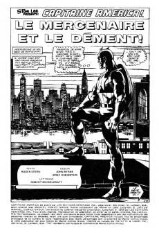 Extrait de Capitaine America (Éditions Héritage) -110111- Le mercenaire et le dément!