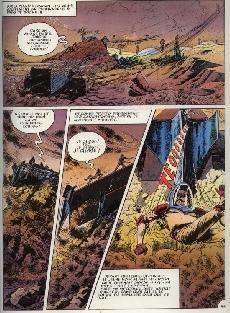 Extrait de L'encyclopédie en Bandes Dessinées -3- Les sables d'Uracan