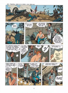 Extrait de Les tuniques Bleues -HS4- Des histoires courtes par...