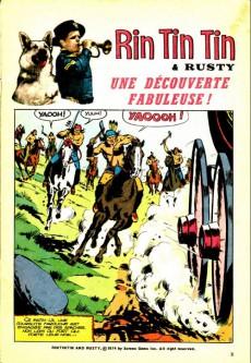 Extrait de Rin Tin Tin & Rusty (2e série) -53- Une découverte fabuleuse !
