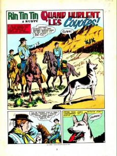 Extrait de Rin Tin Tin & Rusty (2e série) -154/155- Quand hurlent les coyotes !