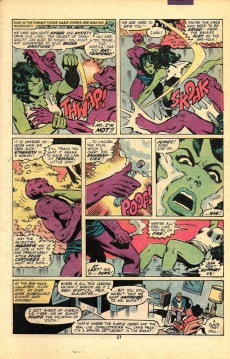 Extrait de Savage She-Hulk (The) (1980) -7- Swamp Demons!