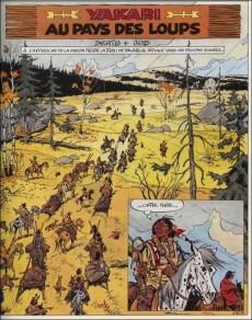 Extrait de Yakari -8a1995- Au pays des loups