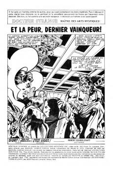 Extrait de Docteur Strange (Éditions Héritage) -910- Et la peur, dernier vainqueur!