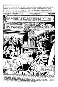 Extrait de Docteur Strange (Éditions Héritage) -1112- La vieille maison sombre