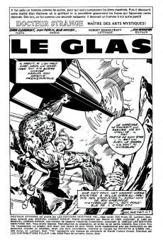 Extrait de Docteur Strange (Éditions Héritage) -1314- Le glas