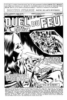 Extrait de Docteur Strange (Éditions Héritage) -1718- Duel du feu