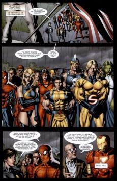 Extrait de Avengers (Marvel Deluxe) - Avengers/Invaders: Anciens Soldats, Nouvelles Guerres