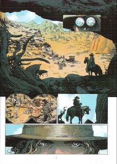 Extrait de Tex (couleur) (Clair de Lune)  -2- Frontera !