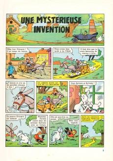 Extrait de Sylvain et Sylvette (02-série : nouvelles aventures de Sylvain et Sylvette) -10- Une mystérieuse invention