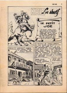 Extrait de Tipi -60- Kris le shérif : le petit joe