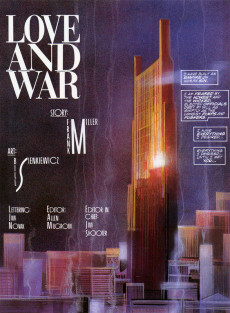 Extrait de Marvel Graphic Novel (Marvel comics - 1982) -24- Daredevil: Love and War