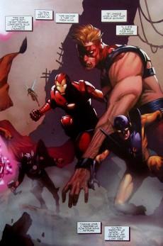 Extrait de Avengers (Marvel Deluxe) - La fin des avengers ?