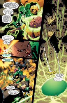 Extrait de Green Lantern: The Sinestro Corps War (2008) -INT02- The Sinestro Corps War - volume two