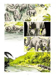 Extrait de Un million d'éléphants