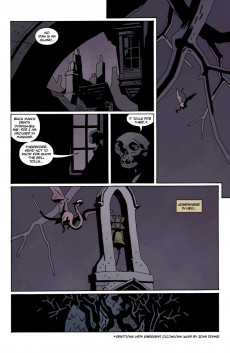 Extrait de Hellboy in Hell (2012) -10- For Whom the Bell Tolls