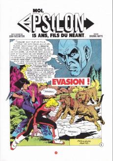 Extrait de Epsilon -4- Evasion ou le secret d'eden part1