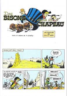 Extrait de Jim L'astucieux (Les aventures de) - Jim Aydumien -16- Des bisons dans un chapeau