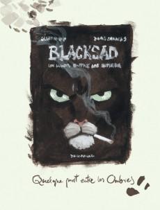 Extrait de Blacksad -INTHS1/HS2- L'histoire des aquarelles