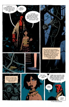 Extrait de Hellboy (1994) -INT07- The Troll Witch and Others