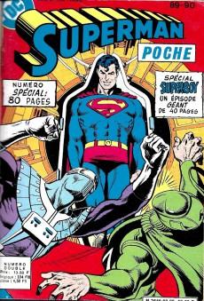 Extrait de Superman (Poche) (Sagédition) -Rec29- Album Fantaisies N°6 (du n°89 au n°91, Batman Poche n°52)