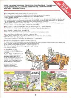 Extrait de Astérix (Publicitaire) -Giph02- La chasse aux dangers sur la route