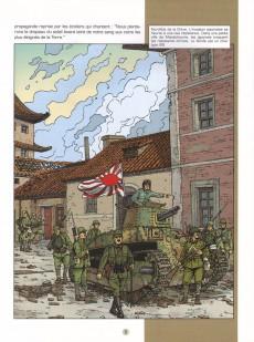 Extrait de Lefranc (Les voyages de/Les reportages de) -8- La guerre du pacifique