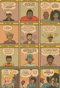 Extrait de Hip Hop Family Tree -1- 1970-1981