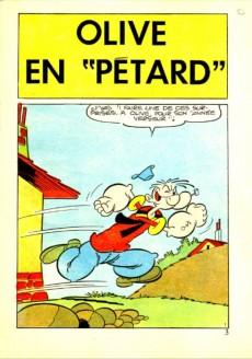 Extrait de Popeye (Cap'tain présente) -34- Olive en