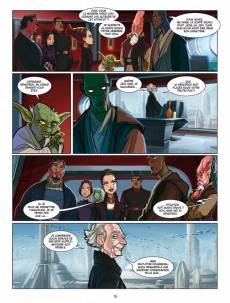 Extrait de Star Wars (Delcourt / Disney) -2- L'Attaque des Clones