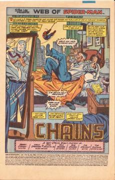 Extrait de Web of Spider-Man (1985) -52- Chains