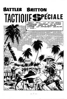 Extrait de Battler Britton -198- Tactique spéciale