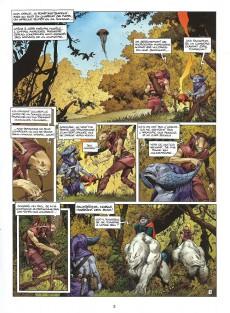 Extrait de Les forêts d'Opale -509- Onze racines
