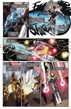 Extrait de Silver Surfer: In Thy Name -3- In Thy Name, Part Three