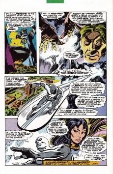 Extrait de Silver Surfer vs Dracula - Tome 1