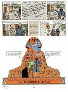 Extrait de Blake et Mortimer (Historique) -3b82- Le Mystère de la Grande Pyramide - 1re partie