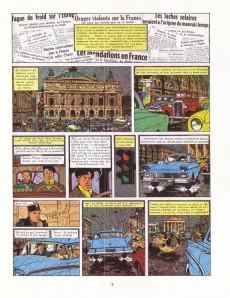 Extrait de Blake et Mortimer (Historique) -7a82- S.O.S. Météores - Mortimer à Paris