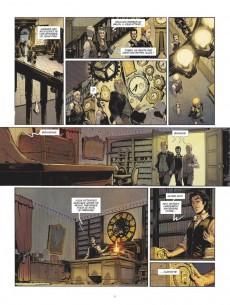 Extrait de La machine à explorer le temps (Dobbs/Moreau M.) - La Machine à explorer le temps