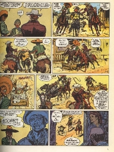 Extrait de Blueberry -6b1976- L'homme à l'étoile d'argent