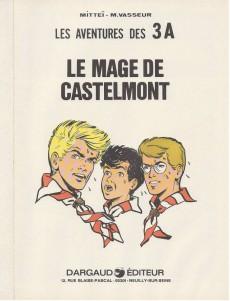 Extrait de 3 A (Les aventures des) -6'- Le mage de Castelmont