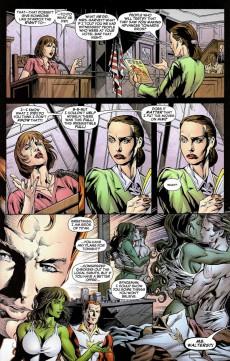 Extrait de She-Hulk (2005) -7- Beus and eros part 2 : Change Of Heart