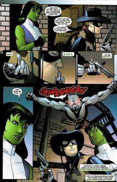 Extrait de She-Hulk (2005) -11- 6 Shots To The Heart
