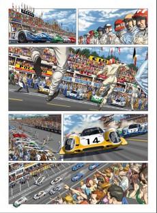 Extrait de Steve McQueen in Le Mans - Tome 1