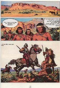 Extrait de Les peaux-rouges -9- L'honneur du guerrier