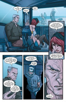 Extrait de Michael Turner's Fathom Blue (2015) -5A- Chapter Five: In the Company of Evil