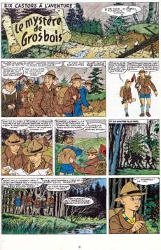 Extrait de Tout Mitacq -1- Les castors - face aux ombres mystérieuses