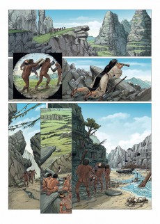 Extrait de Le monde perdu (Faina/Salvatori/Bec) -3- Tome 3