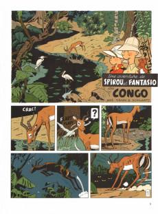 Extrait de Spirou et Fantasio (Une aventure de.../Le Spirou de...) -11- Le Maître des hosties noires